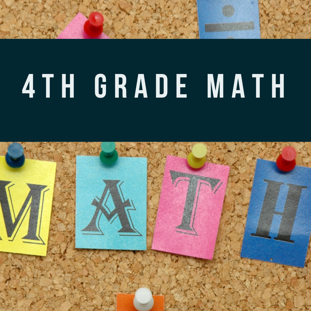 Self Paced: 4th Grade Enrichment Mathematics - 10 weeks (Decimals, Angles and Line Segments, Rectangles and Squares, Area and Perimeter, Solving Word Problems)