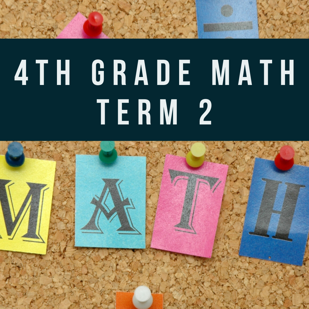 Self Paced: 4th Grade Mathematics - 10 weeks (Data and Probability, Fractions and Mixed Numbers, Decimals, Conversion of Measurement)
