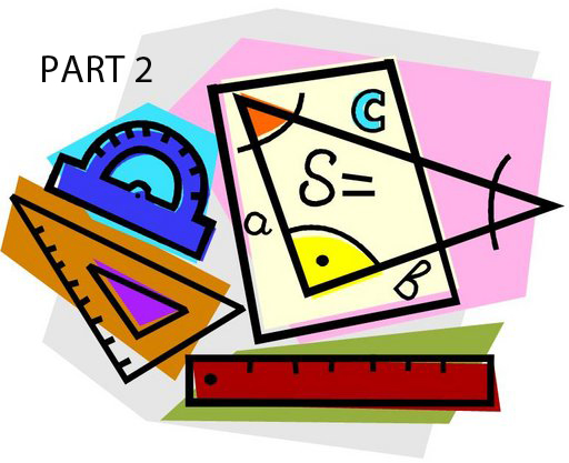 Self Paced: 10 Week Geometry/ Trigonometry Course: (Grades 6 - 8) Part 2